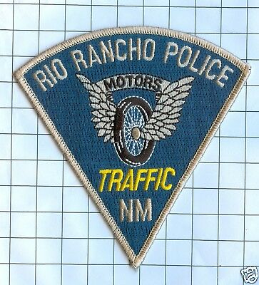Police Patch  - New Mexico - Rio Rancho Traffic