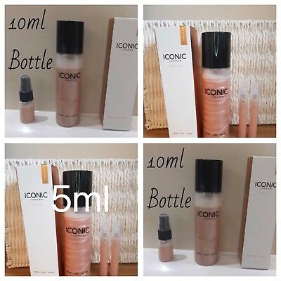 ☀️☀️ICONIC LONDON PREP SET GLOW IN ORIGINAL / GLOW SAMPLE GENUINE 5/10ml choose