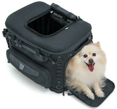Kuryakyn Motorcycle Travel Grand Pet Palace Dog Luggage Travel Carrier Case Bag