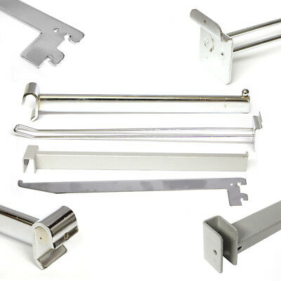 Shop Retail Display Hooks, Arms, Hangers & Bars Various Fittings / Styles