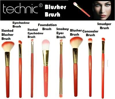 Technic Cosmetic Blusher Brush Perfect for Contouring Make Up Soft Brush Make Up
