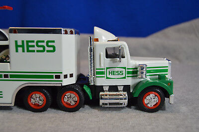 1995 Hess Toy Truck and Helicopter - Unused in Box - Clean and Looks Great!