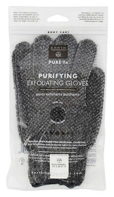 Earth Therapeutics - Pure fx Purifying Exfoliating Gloves with Medicinal Bamboo