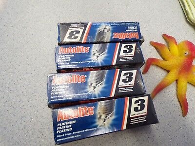 NEW Autolite AP105 Spark Plugs, Lot of 4  *FREE SHIPPING*