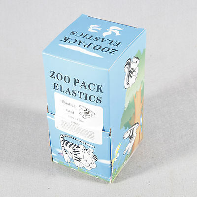 5000pc/Pack Dental ortodoncia Bands Elastics Rubber Latex Braces 3.5 OZ,3/16 ZOO