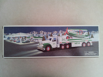 Hess* 2002* Toy* Truck* And* Airplane* Mib*