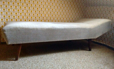Canape Ottomane Liege Tagesliege Daybed 60er Jahre