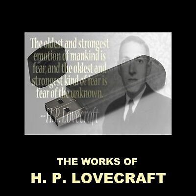 The Works Of H.p. Lovecraft. Enjoy 31 Creepy Stories In Your Car Or Home!