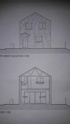 Land for sale in Salterforth Barnoldswick Lancashire with planning permission