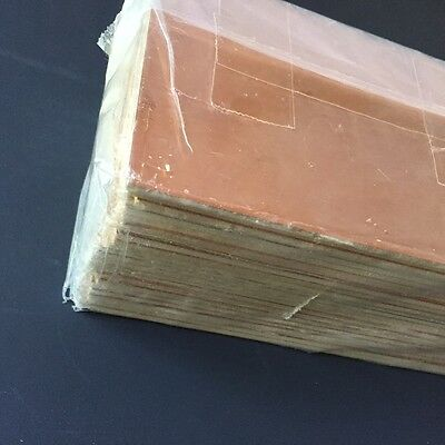 """FR4 Copper Clad Laminate PCB Circuit Board Material  4 """" x 8"""" single sided"""