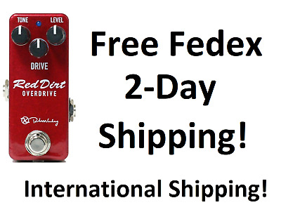 New Keeley Red Dirt Mini Overdrive Guitar Effects Pedal!