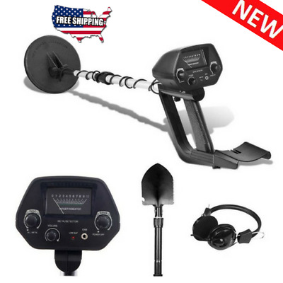 Waterproof Search Coil with Shovel Metal Detector for Security Treasure Hunting