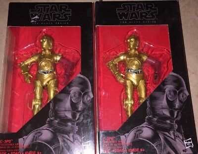 STAR WARS BLACK SERIES 6 INCH C-3P0 (RED ARM) RED LINE NEW IN BOX (only one !)