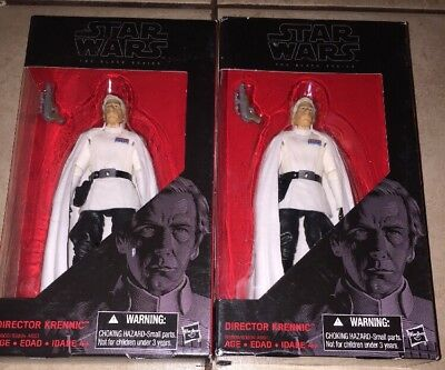 """BRAND NEW!  Hasbro Star Wars Black Series 6"""" DIRECTOR KRENNIC includes one only"""
