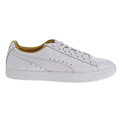 96423b8aa02b PUMA CLYDE CORE Lace Women s Shoes White Olive Gold 365737-02 ...