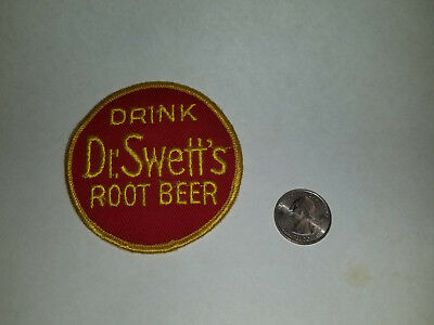 vintage Dr. Swett's root beer uniform patch