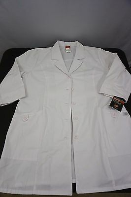 Dickies EDS Signature 3/4 Sleeve Lab Coat Missy Fit Womens XL Extra Large