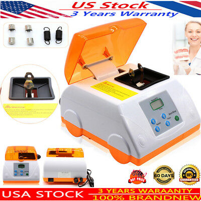 Dental Digital Amalgamator Fast Speed amalgam Capsule Mixer Blender USA
