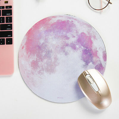 Round Solid Wrist Support Mouse Pad Mice Mat Computer Laptop Netbook Non Slip