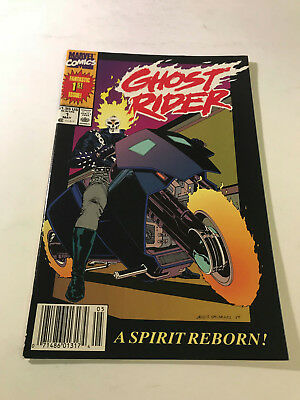 Ghost Rider #1 Comic Newsstand Varaint 1st Appearance of Danny Ketch Marvel