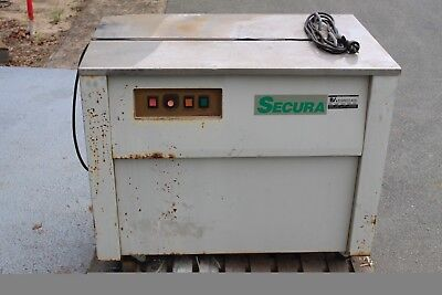 Secura SP1 Semi Automatic Strapping Machine - Power Tested - As Is