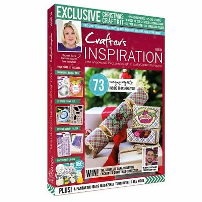 Crafters Companion CRAFTERS INSPIRATION MAGAZINE Issue 18 Summer - FREE £50 Kit