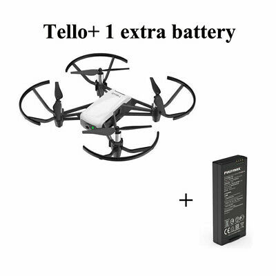 DJI Tello RC Drone FPV Quadcopter With 720 HD Transmission,5MP W/Extra Battery