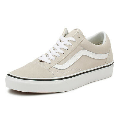 10949b88c2 Vans Unisex Silver Lining   True White Old Skool Trainers Lace Up Skate  Shoes