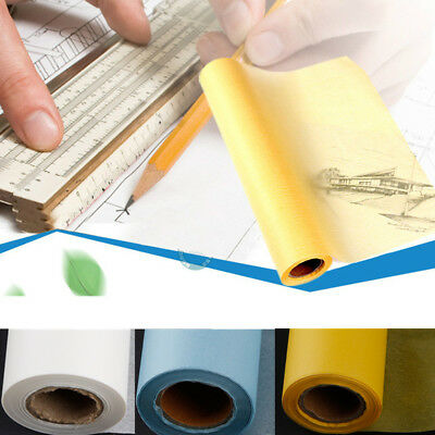50M Transparent Draft Sketch Tracing Paper Artist Copy Drafting Acid Paper