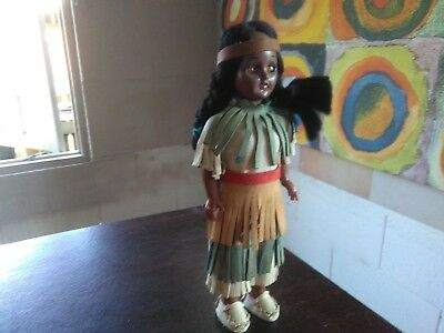 mini native Indian collectible doll