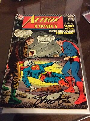 Action  Comics #350 Signed By Jim Shooter -