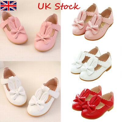 New Baby Girls Sandals Rabbit Toddler Kids Summer Party Wedding Flat Shoes Sizes