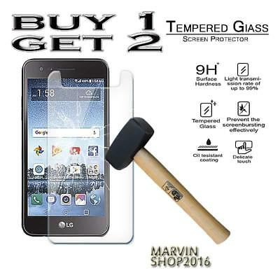 Genuine Tempered Glass Film Screen Protector Cover For LG Rebel 3