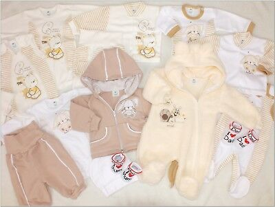 18 TLG Set Baby Starterset Size 50 56 62 First Outfit Dream Package Unisex Top