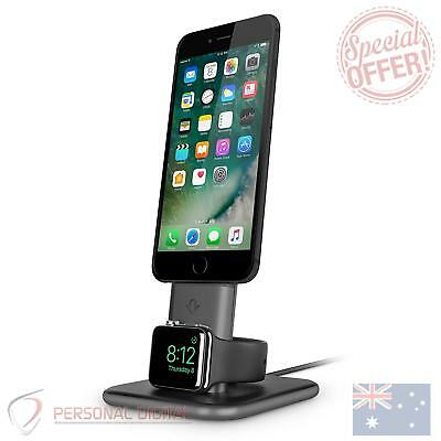 Genuine Twelve South HiRise Duet Dual Charging Stand for iPhone and Apple Watch