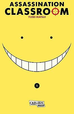 Assassination Classroom 1 - Deutsch - Carlsen Manga - NEUWARE