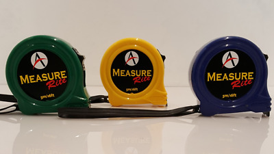 Advent Measure Rite 5M  16Ft Tape Measure In Packs Of 1, 3 Or 5