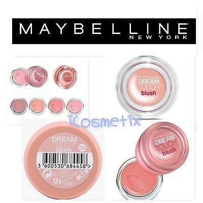 Maybelline Dream Touch Blush - Choice of Shades 7.5g Pink or Peach