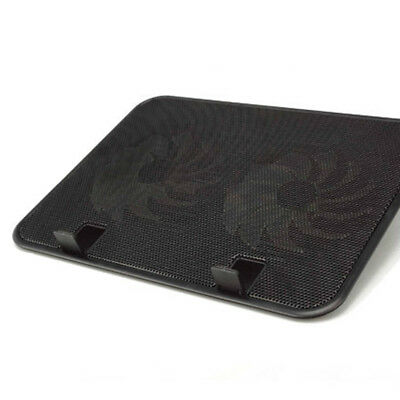 Laptop Cooling Fan Pad Cooler Mat for 13 15 inch Gaming Notebook With USB Hub