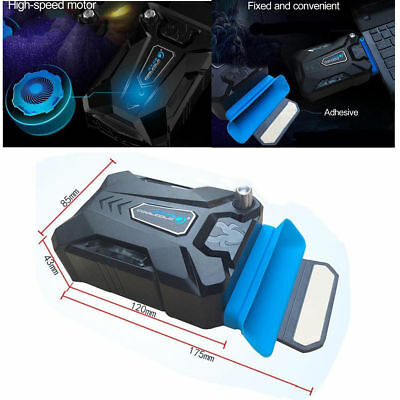 Cooler USB Laptop Portable Mini Vacuum Air Cooling Fan Extracting Notebook New