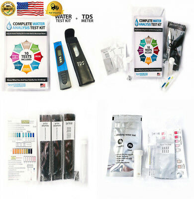 Complete Water Test Kit With TDS Meter - Home Testing Results In Minutes