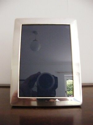 "Hallmarked Solid Silver Photo Picture Frame London 2000  6.25"" X 4.75"""