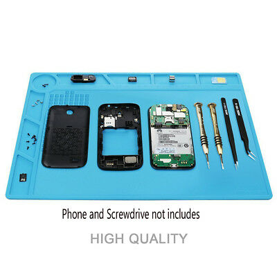 Heat Insulation Silicone Pad Mat For Soldering Iron Phone and Computer Repair