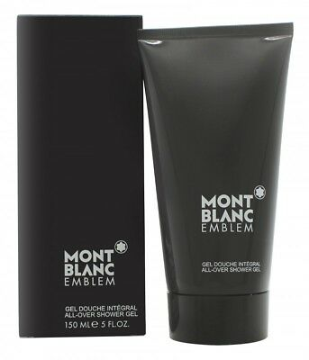 Mont Blanc Emblem All-Over Shower Gel  - Men's For Him. New. Free Shipping