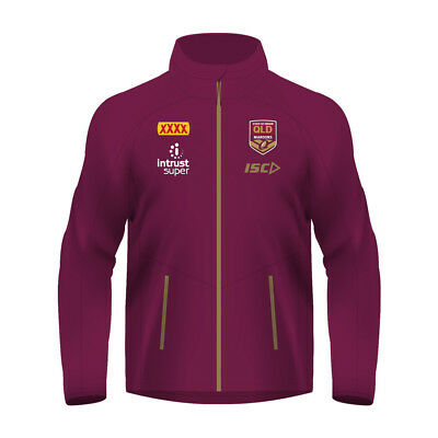 Queensland Maroons State of Origin 2018 NRL Ladies Wet Weather Jacket QLD Rugby