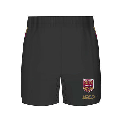 Queensland Maroons State of Origin 2018 NRL Mens Training Shorts Rugby League