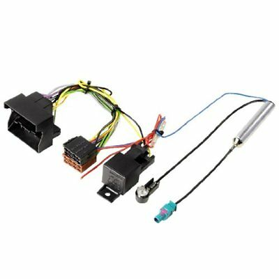 Hama Car Radio Connection Set Opel Quadlock - ISO, incl, protective relay Black