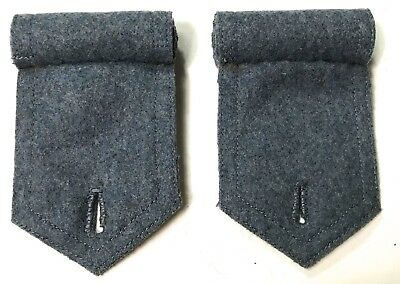 Wwi France French M1915 Blue Wool Great Coat Overcoat Shoulder Boards