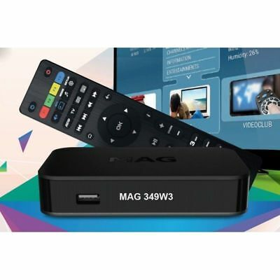 Infomir Mag 349w3 Genuine Premium IPTV/OTT Set-Top Box Dual Wifi UK Seller