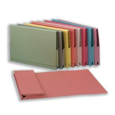 Guildhall's Quality Document Wallet Full Flap Capacity 35mm Foolscap x 200's